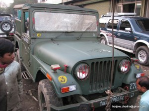 Pictures of the 4x4 Jeep