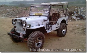 CJ3B Tyre change MAXXIS MUDZILLAS at Kartar tyre-26