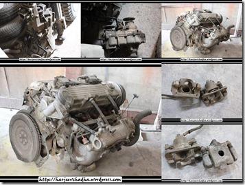 106 Engine GB Tcase brake Calipers