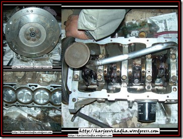 107 Part Rebuild of the engine