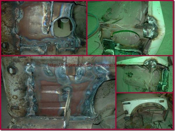 Front Fender Repair