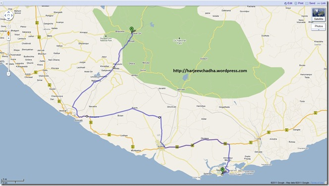 MAP 2011 March 22 - DAY 4 GIR-DIU