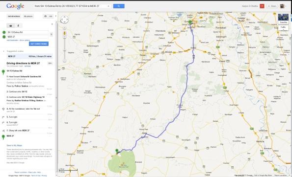 Gurgaon Sariska Route